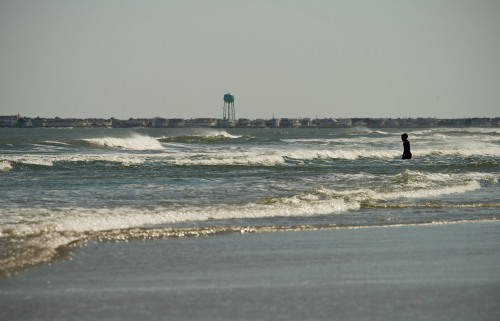 Windy April Surf