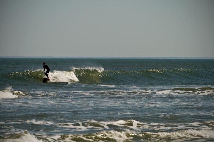 Small April Longboarding