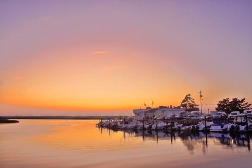 Bay Sunset HDR