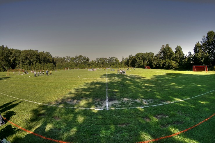 Soccer Field HDR