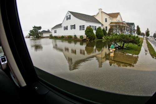 Sidwalk Submerged