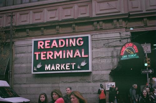 Reading Terminal Sign