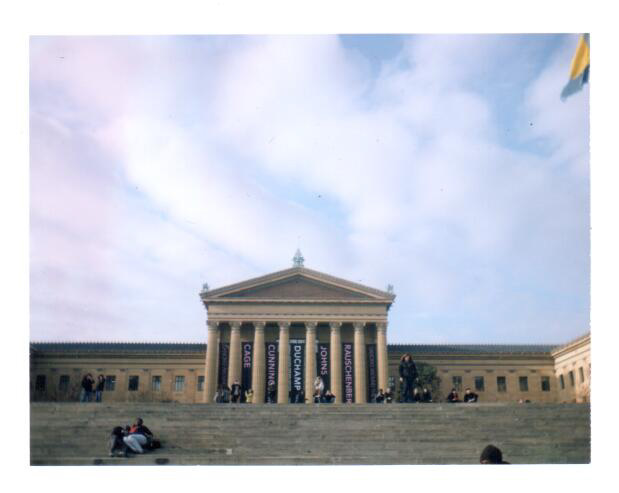 Art Museum Polaroid