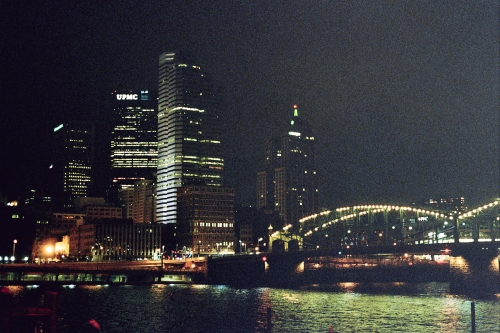 Half the Skyline by Night