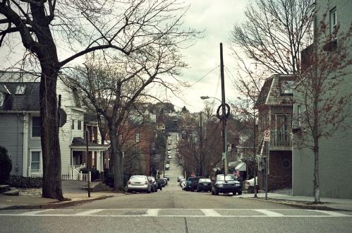 Street on Mt. Washington