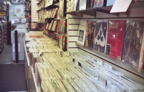 Record Store in the Village