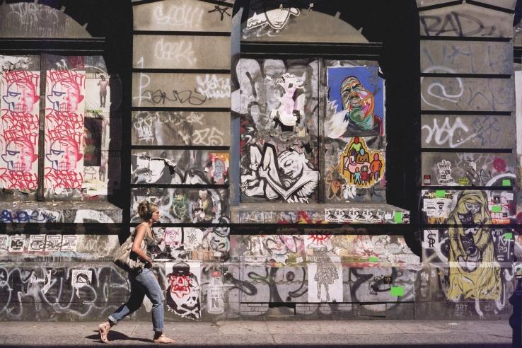 Lower East Graffiti