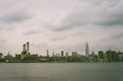 Skyline across the East River