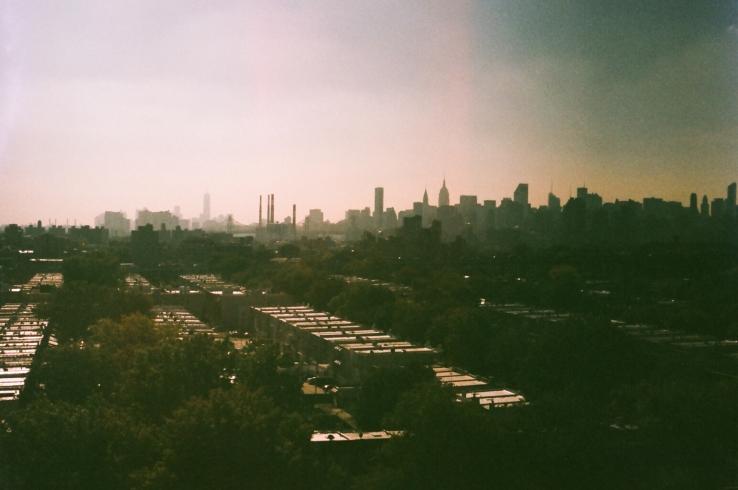 Skyline Over Astoria Rooftops
