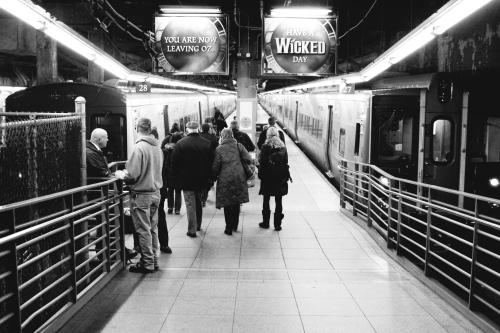 In Between Trains