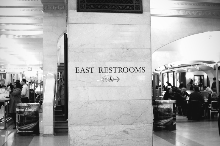 East Restrooms