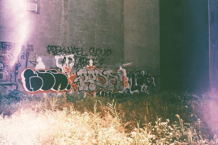 Empty East Village Lot