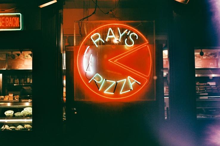 Ray's Pizza Neon