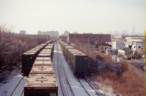 Bushwick Trains II
