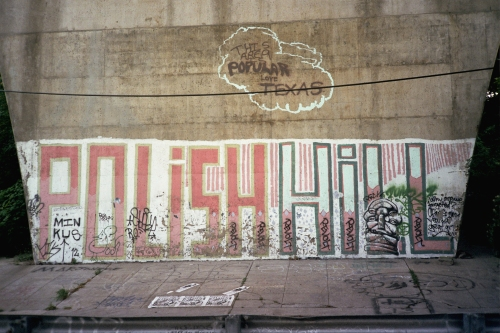 Polish Hill Graffiti