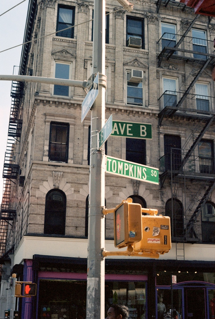 Ave B & Tompkins