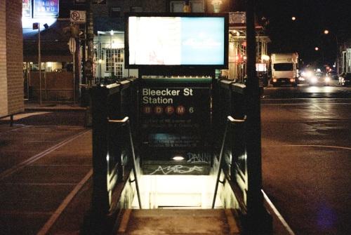 Bleecker Subway Stop