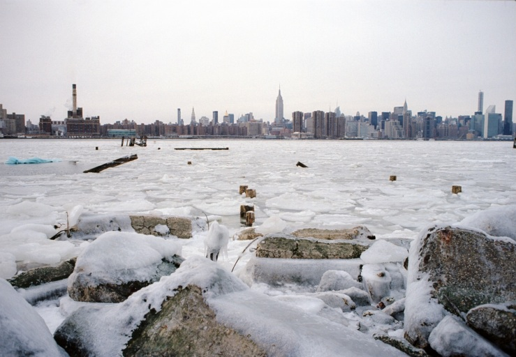 East River Ice Floes